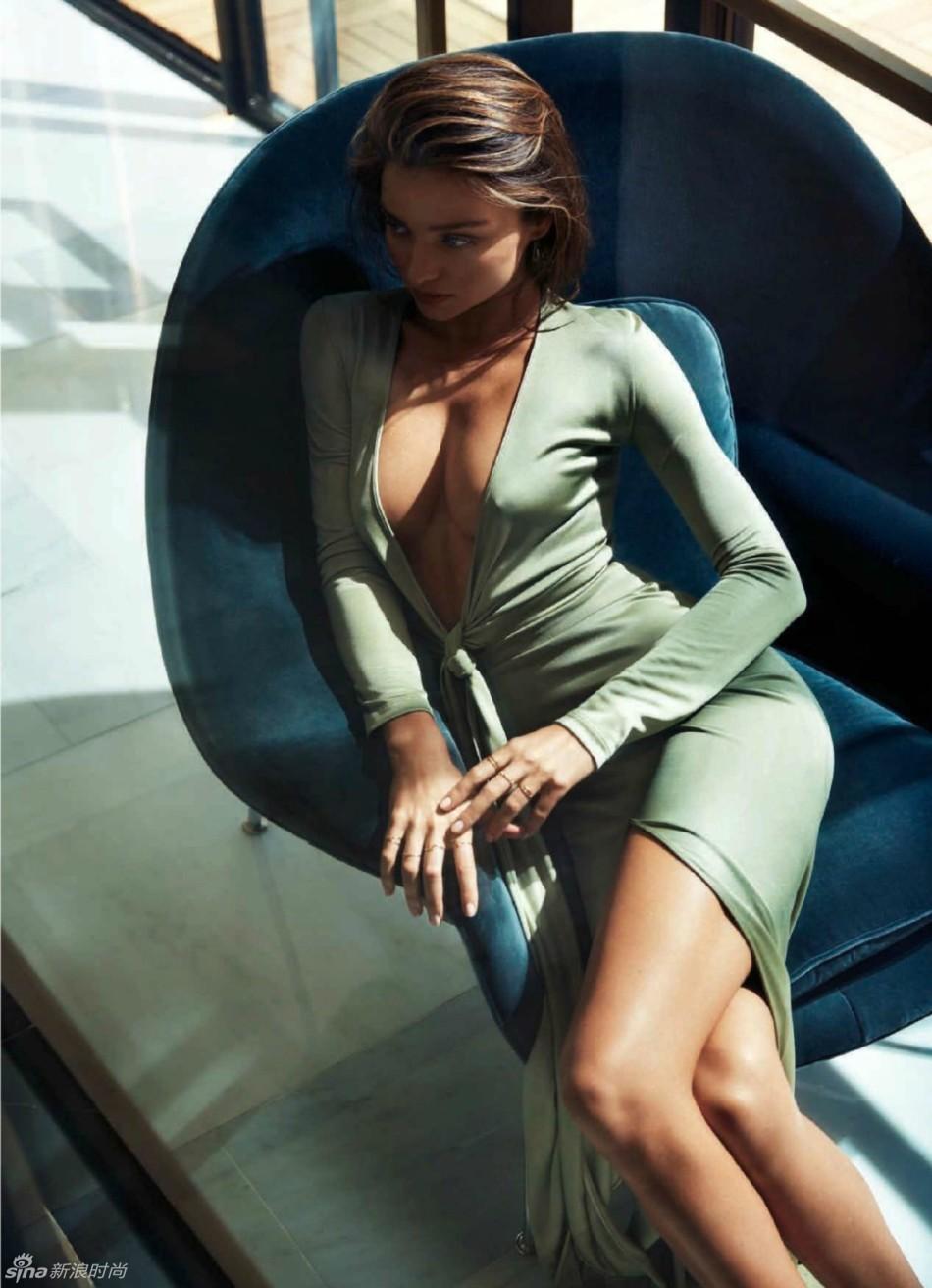 米蘭達-可兒全裸登封麵 大秀完美性感熱辣曲線