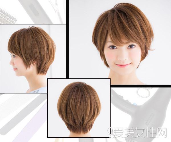 amp;跟风:有妹纸剪短头发可能是因为自己偶像剪短头发,或者是