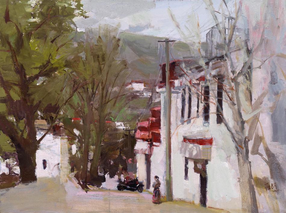 魅力西藏 当代油画家作品展