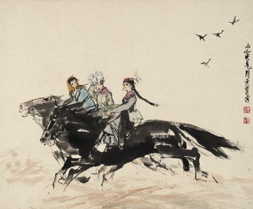 中国近现代书画名家作品欣赏