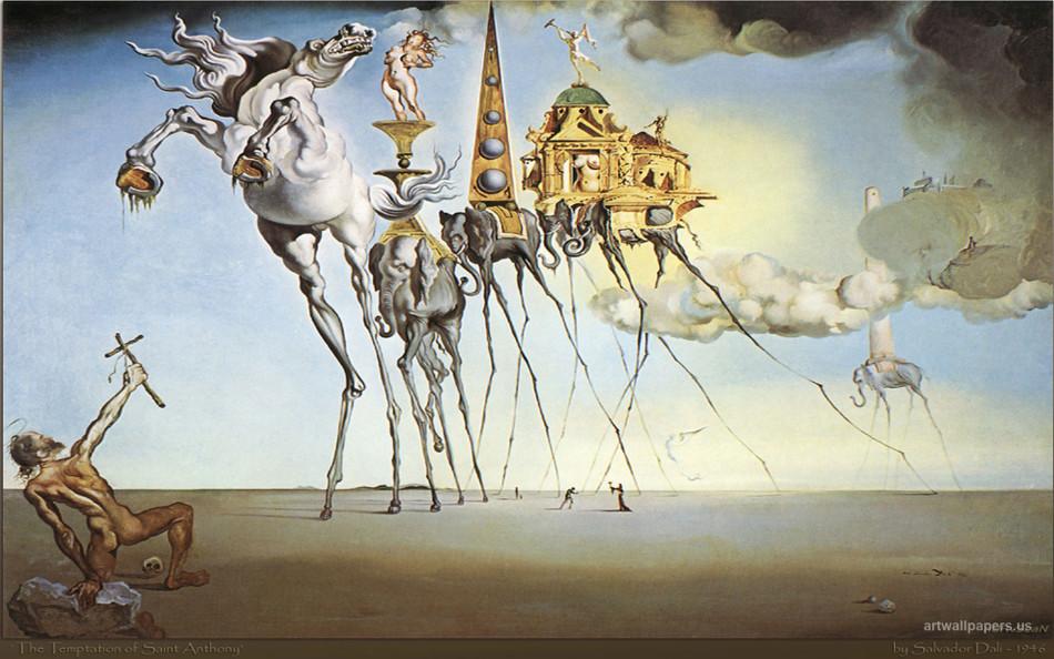 达利的超现实主义作品 高清图集