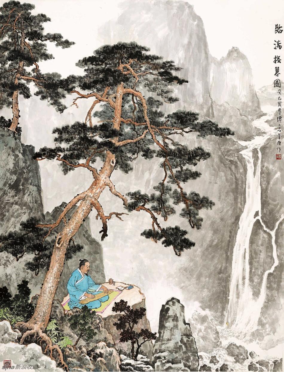[转载]傅二石山水画作品欣赏