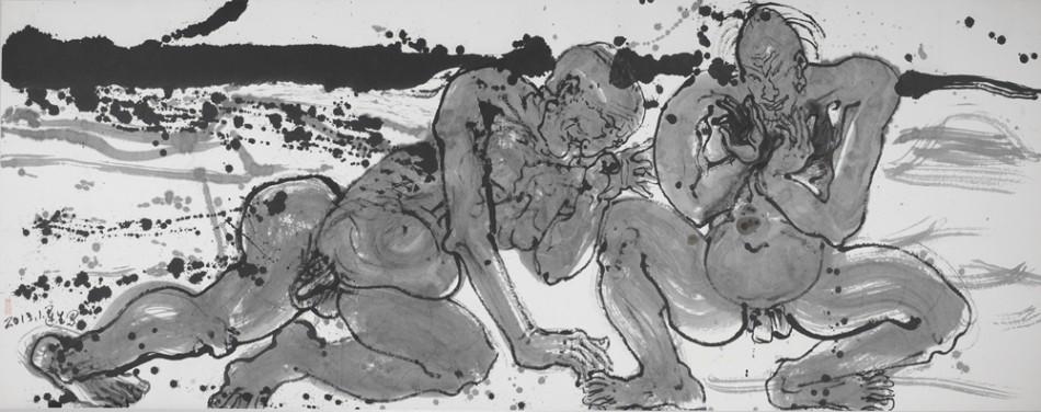 4月6日,由中国美术馆主办的走向文明的自觉袁运生艺术展在中国美术馆开幕。该展是中国美术馆捐赠与收藏系列展之一,袁运生先生自1960年代至今创作的水墨、油画、铜版画等141件,以及素描、速写等习作20多件。其中,大部分作品都是首次公开展出。