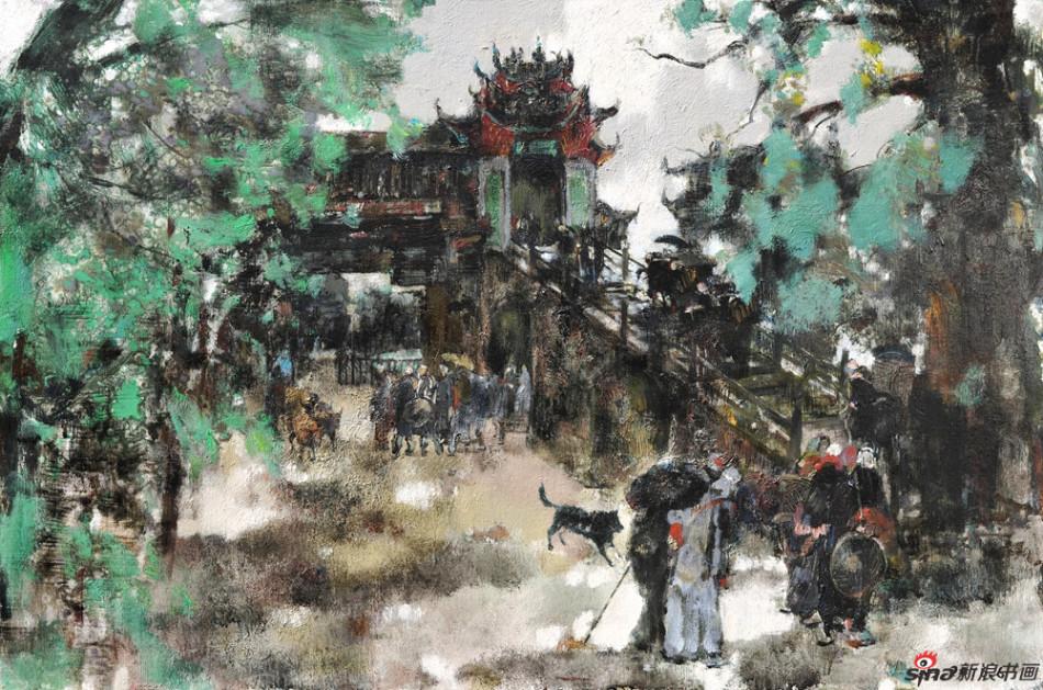 《暖黄》陈和西油画作品展