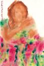 傣族女孩-68x46cm