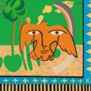 向大师致敬-毕加索的和平100x100cm