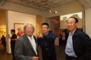 2014年王清州和島子-周明德在個展現場