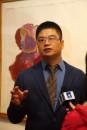 2014年王清州在798先聲畫廊個展1