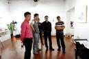 2015年王清州和個展現場