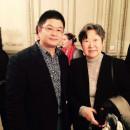 王清州和董景昭女在巴黎士