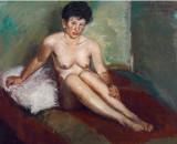 沙耆 《比利时女肖像》
