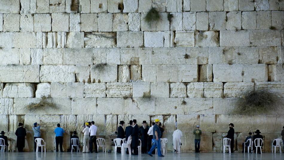 以色列投巨资保养哭墙 哭墙