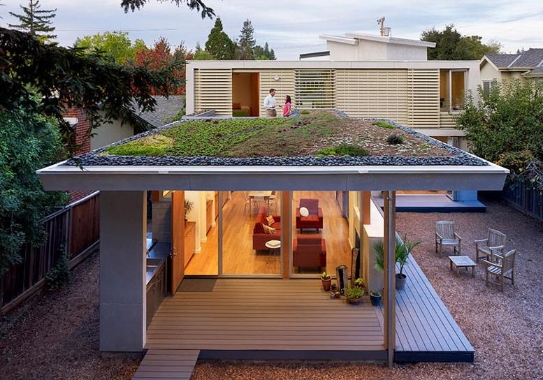 加州明亮生态的现代小洋房