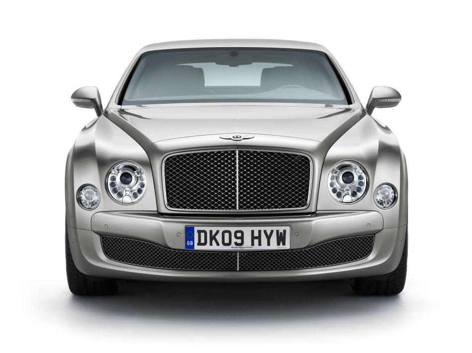 009年8月,宾利推出全新车型慕尚Mulsanne——80年以来宾利唯一