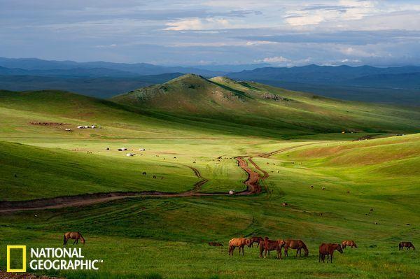 蒙古面积相当于阿拉斯加大,人口大约为300万人.数据显示,蒙古平