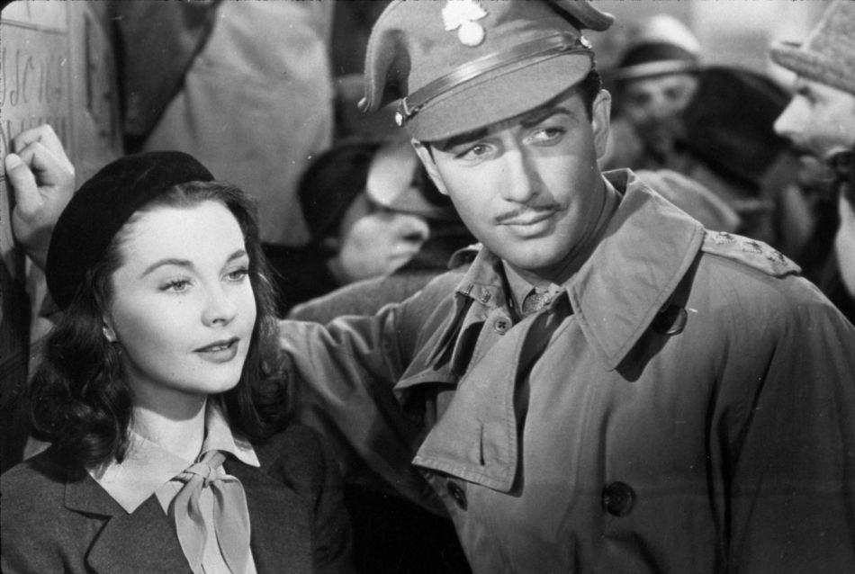 1940年 魂断蓝桥 中的罗伯特-泰勒