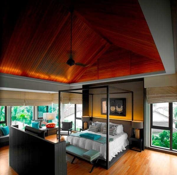 这座建筑的室内设计曾经赢得住宅类2011年马来西亚室内设计大奖.