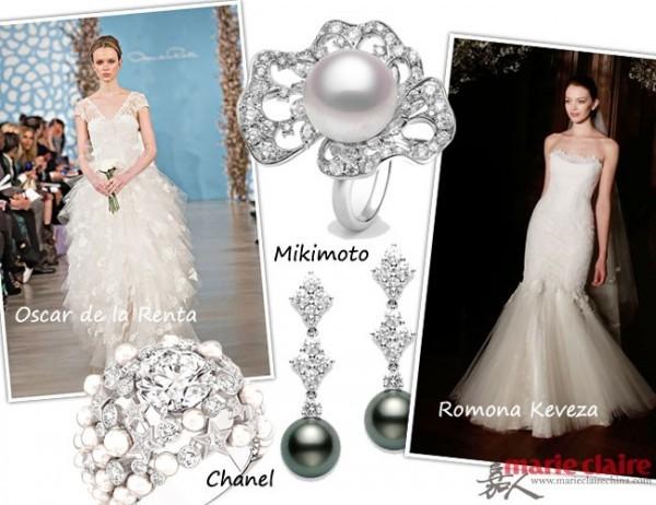 做最美的珍珠新娘