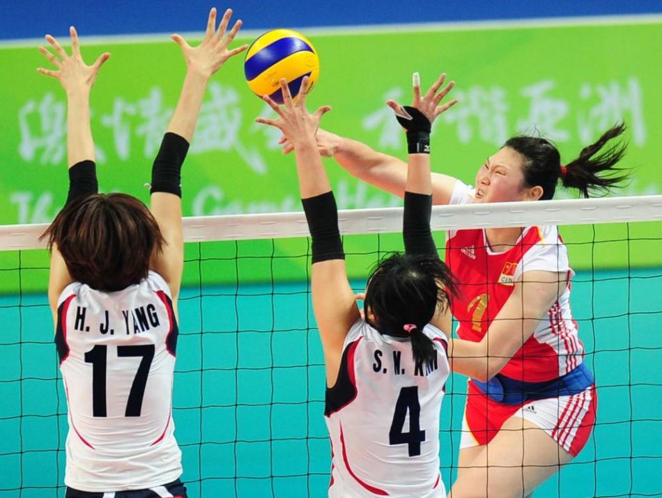 201年仁川亚运女排组赛