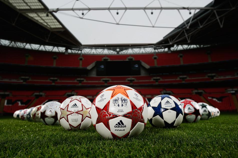 欧冠决赛比赛用球公布图片