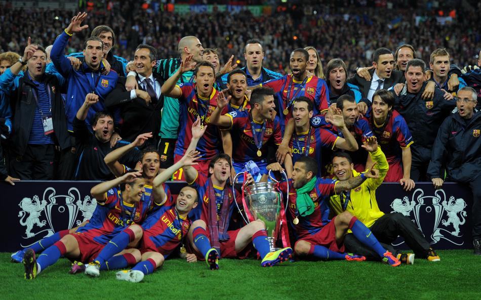 10/11赛季欧洲冠军联赛决赛在温布利大球场进行,最终凭借佩德