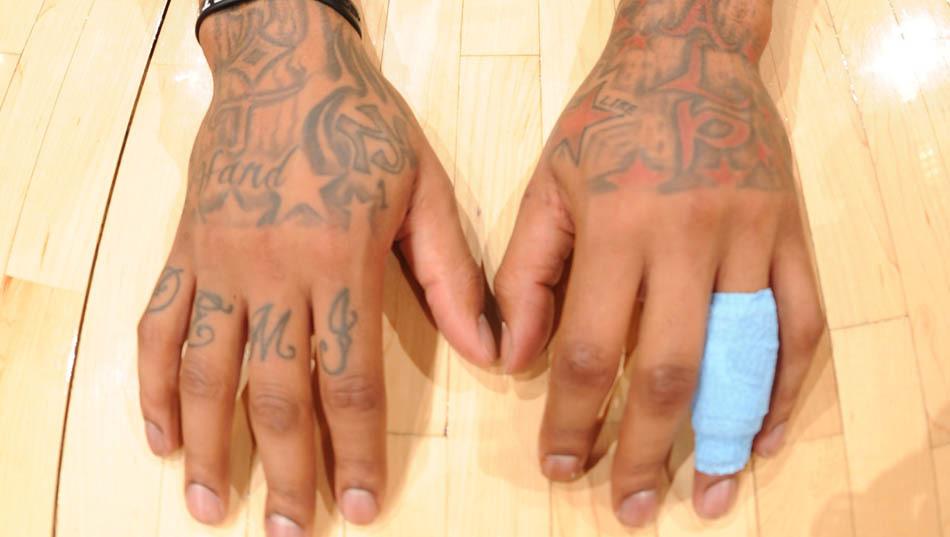 指头纹身小图案简单