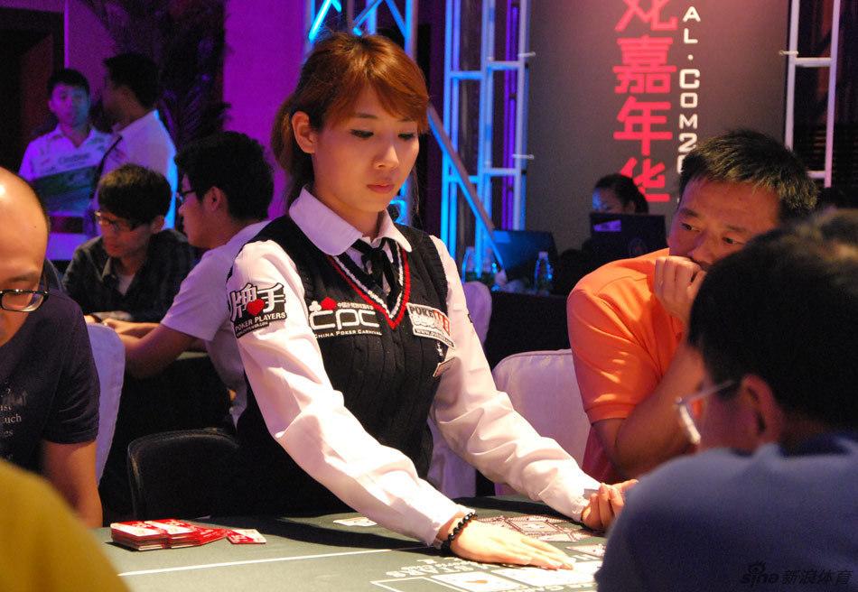 2014年夏季韩版短裤女CPC扑克赛美女发牌员_高清图集_新浪网2014賀年卡圖片