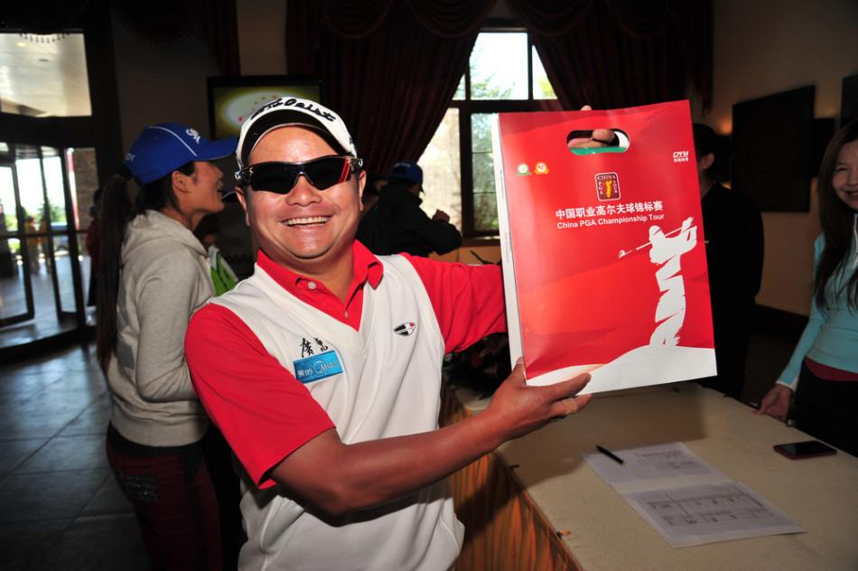 9月25日,中国职业高尔夫球锦标赛本周在烟台金山国际俱乐部开战.图片