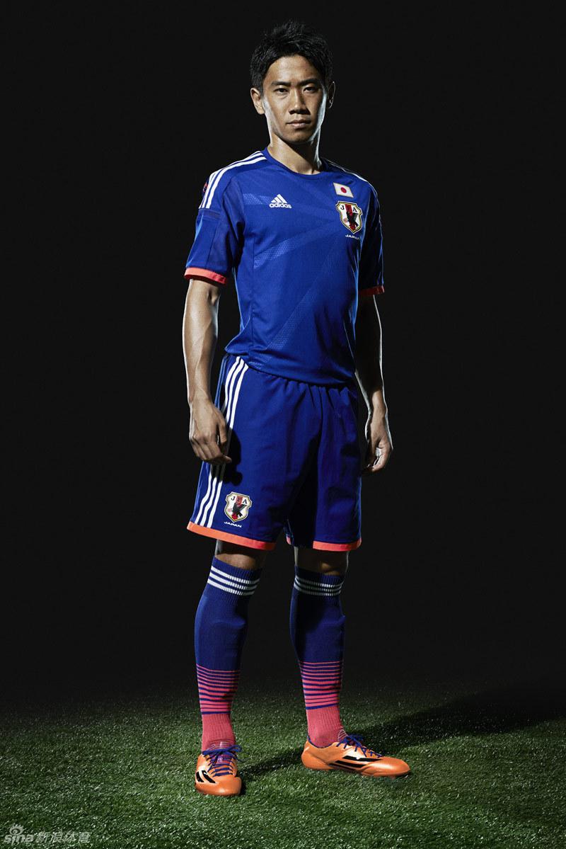 德国日本世界杯球衣发布