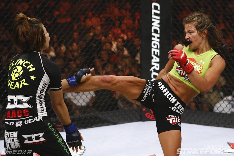 UFC美女格斗选手米莎 塔特Miesha Tate性感