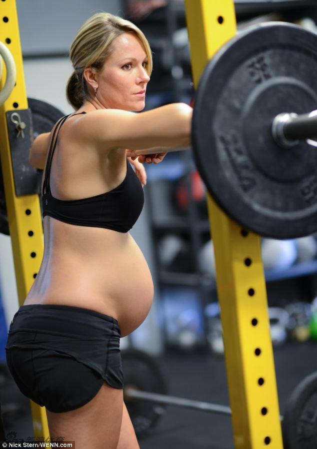孕妇也玩空手道