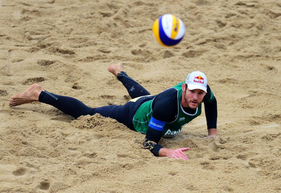 年国际排联世界沙滩排球巡回赛福州公开赛在福州闽江公园沙滩排球