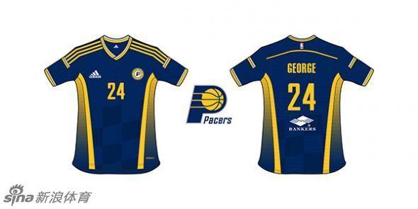 近日,NBA赞助商阿迪达斯公司设计师有了新的想法,就是将NBA比赛图片
