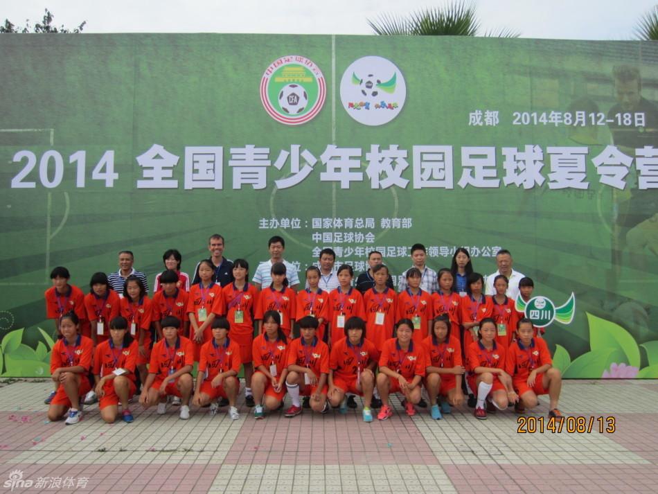 2019年全国青少年冬夏令营足球项目云南站开营