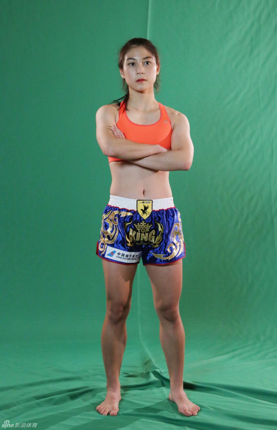 战祖山昆仑将在青海西宁打响,来自韩国的格斗美少女李致愿将出战图片