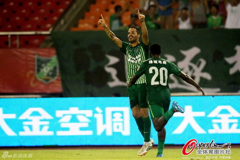 2014年中超第23轮:杭州绿城3-1江苏舜天