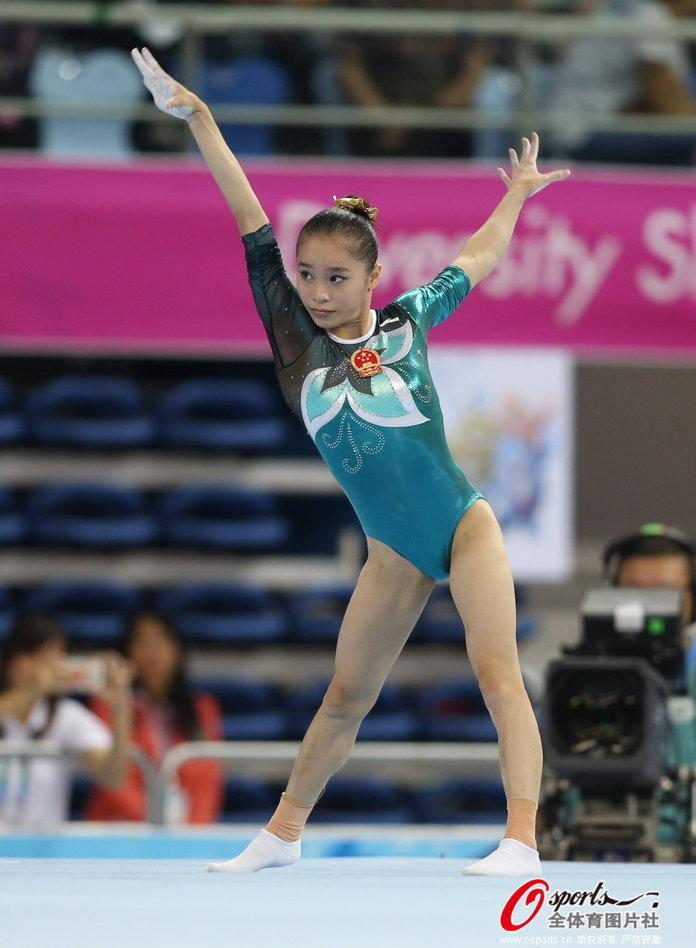 狂操日本女子_女子自由操中国选手包揽金银
