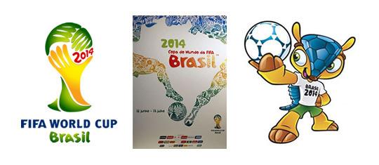 18年第21届足球世界杯的官方logo,本组图集带您回顾过去19届世界