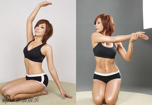 韩国健身女皇郑多燕身材发福
