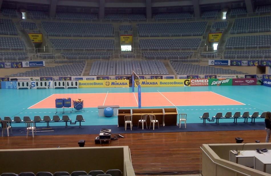 馆是巴西传统的排球比赛场馆,紧邻传奇的马拉卡纳体育场,这里是