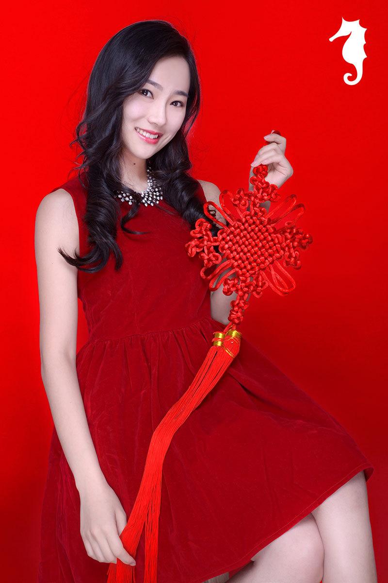 红火连衣裙