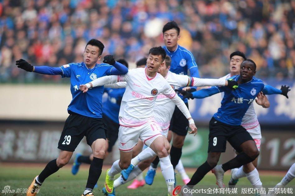 2016中甲第1轮:大连一方2-0浙江毅腾
