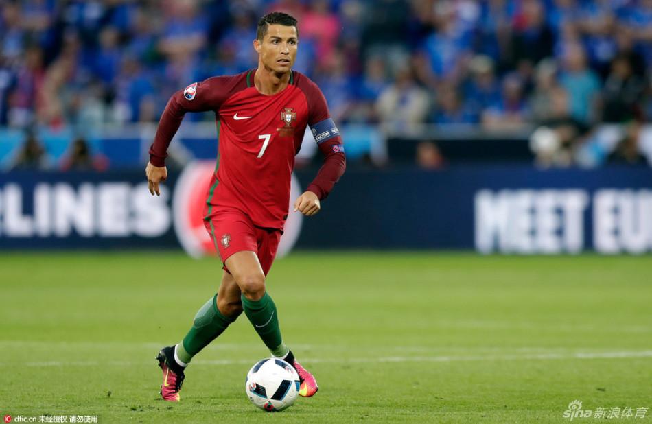 [欧洲杯]葡萄牙1-1冰岛