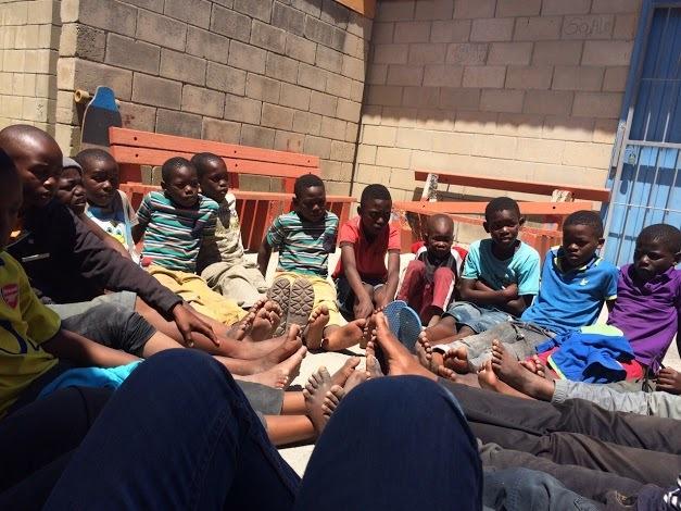 非洲的孩子们
