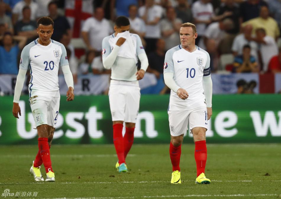 [欧洲杯]英格兰1-2冰岛