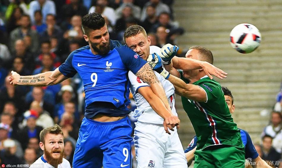 [欧洲杯]法国5-2冰岛