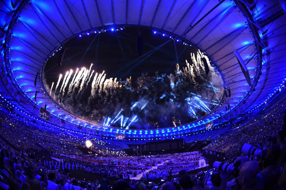 第十五届残奥会闭幕式现场高清图赏 烟火绚烂美轮美奂