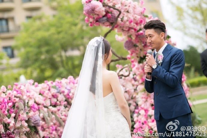 高迪大婚晒唯美婚纱照_高清图集_新浪网图片
