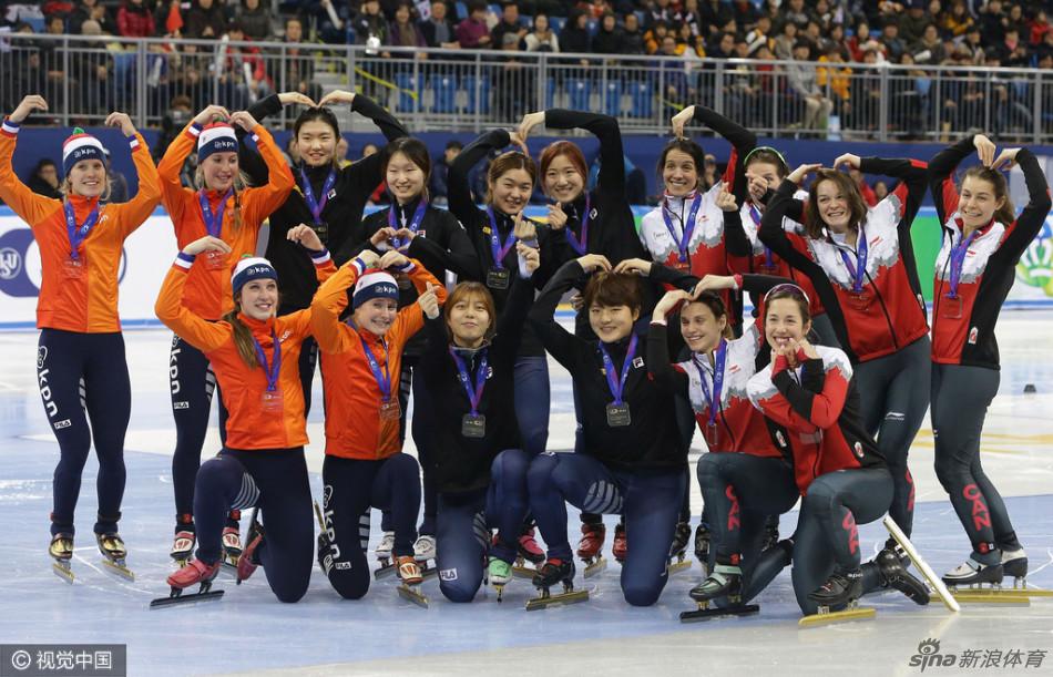 2017赛季国际滑联短道速滑世界杯第四站在韩国江陵展开第三日较量