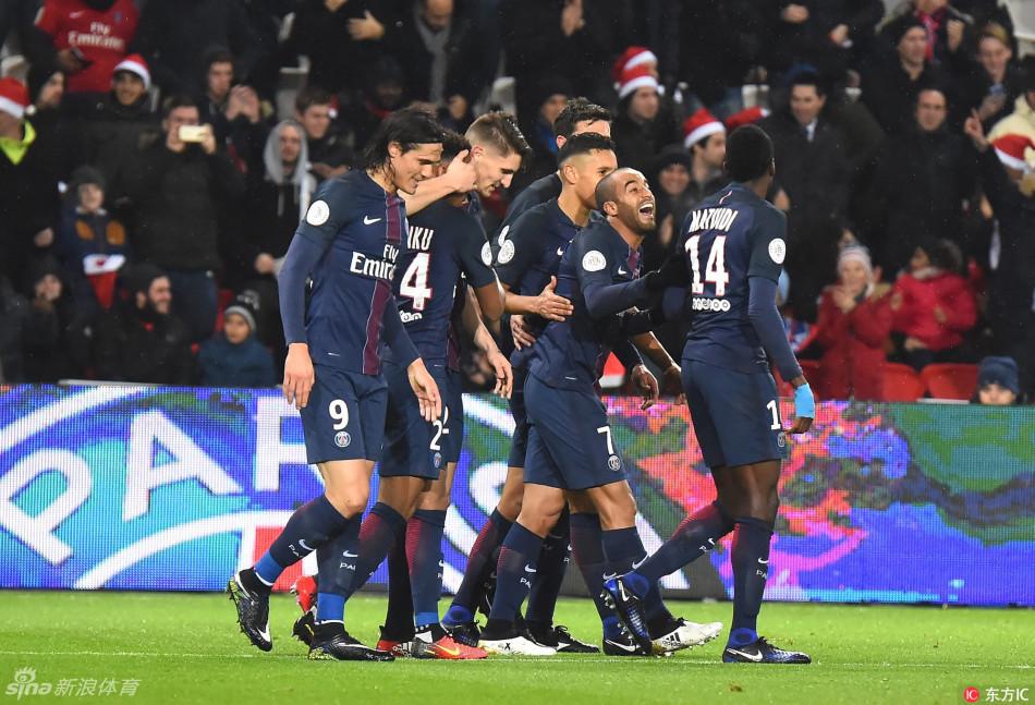 [法甲]巴黎日耳曼5-0洛里昂(10张)